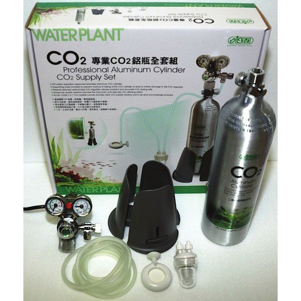 Ista co2 bottle set fish tank accessories for Co2 fish tank